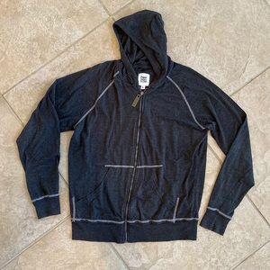 Paper Denim & Cloth Lightweight Zip Jacket sz L